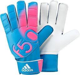 Adidas Rękawice bramkarskie F50 Training niebiesko-różowe r. 10 (F87175)