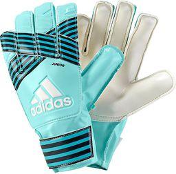 Adidas Rękawice ACE Junior zielone r. 4 (BS1511)