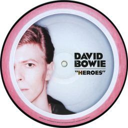 POP BOWIE, DAVID HEROES (40TH ANNIVERSARY 7' PICTURE DISC)