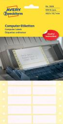 Avery Zweckform Etykiety na składance komputerowej 48 x 18,7 mm (3606 N)