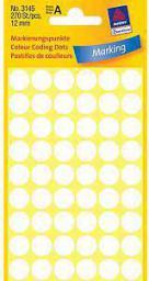 Avery Zweckform Etykiety białe kółka do zaznaczania 12mm (3145)