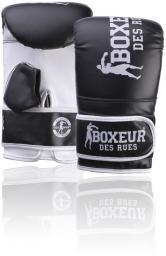 Spokey Rękawice bokserskie BXT-5140 czarno-białe r. S