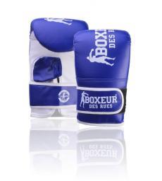 Spokey Rękawice bokserskie BXT-5140 niebiesko-białe r. S