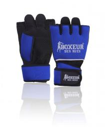 Spokey Rękawice bokserskie Boxeur BXT-5142 granatowo-czarne r. L/XL