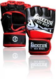 Spokey Rękawice MMA czarno-czerwone r. S (BXT-5135)