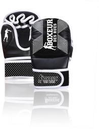 Spokey Rękawice MMA czarno-białe r. L (BXT-5210)