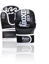 Spokey Rękawice MMA czarno-białe r. S (BXT-5211)