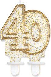 GODAN Świeczka 40 złoty kontur