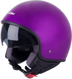 W-TEC Kask motocyklwoy otwarty na skuter W-TEC FS-710 Kolor Liliowy, Rozmiar S(55-56) - 15314-S-2