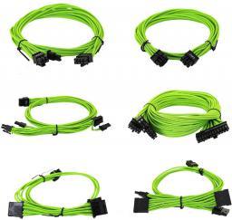 EVGA Zestaw kabli do G2/G3/P2/T2, 1000-1300W, Zielone (100-G2-13GG-B9)