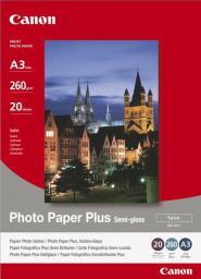 Canon Papier Photo Plus Semi-glossy SG201 A3 (1686B026AA) półbłyszczący |20 ark