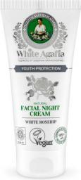 Babuszka Agafia White Agafia Natural Facial Night Cream Youth Protection naturalny krem do twarzy na noc 50ml