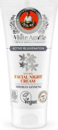 Babuszka Agafia White Agafia Natural Facial Night Cream Active Rejuvenation naturalny krem do twarzy na noc 50ml