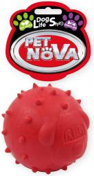 PET NOVA TPR Snackball Red 6.5cm