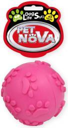 PET NOVA TPR Soundball Pink 6cm