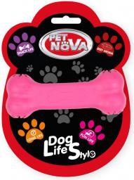 PET NOVA TPR Snackbone Pink 11cm