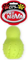 PET NOVA TPR Snowman Yellow 9.5cm