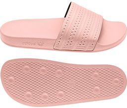 Adidas Klapki damskie Originals Adilette kolor różowy 40.5 (BA7538)