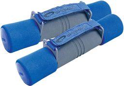 Spokey Hantle treningowe 2x2kg Spong niebieski (838313)