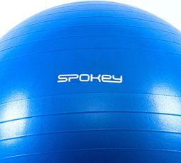Spokey Piłka gimnastyczna Anti-Burst 75cm Fitball III niebieska r. uniwersalny (920938)