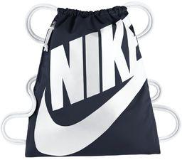 Nike Plecak sportowy Heritage Gymsack granatowy (BA5351 451)