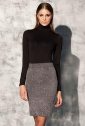GATTA Spódnica Blanca Skirt 01 DEEP NAVY MELANGE r. XS