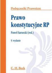Prawo konstytucyjne RP. Podręczniki prawnicze wydanie 9