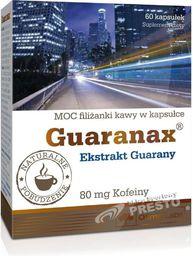 OLIMP Suplement diety Guaranax 60 kaps. Olimp  roz. uniw (012525)