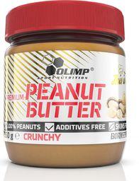 Olimp Masło orzechowe Premium Peanut Butter Crunchy 350g Olimp  roz. uniw