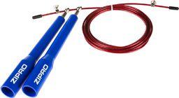 Zipro Skakanka Crossfit 3m niebiesko-czerwony