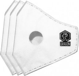 Filtr wymienny DRAGON Filtry do masek antysmogowych 3szt. N99 Casual Standard r. L