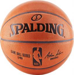 Spalding Piłka do koszykówki NBA Gameball Replica r. 7 (83-044Z)