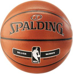 Spalding Piłka do koszykówki Silver Series Composite Leather Indoor/Outdoor r. 7 (76018Z)