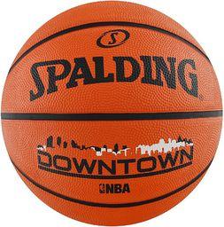 Spalding Piłka Do Koszykówki Downtown Brick 7 Rozmiar Uniwersalny (83204Z)