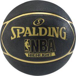 Spalding Piłka Do Koszykówki Hightlight 7 Rozmiar Uniwersalny (83-194Z)