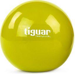 Tiguar Piłka do ćwiczeń Heavy Ball Tiguar  żółta r. uniw (tiguar52)
