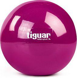 Tiguar Piłka do ćwiczeń Heavy Ball 1kg  Tiguar Fioletowa   r. uniw  (TI-PHB010)