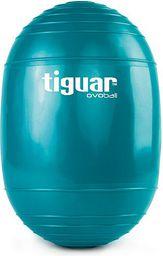 Tiguar Piłka gimnastyczna eliptyczna Ovoball 25x16,5cm Tiguar turkusowa r. uniw  (TI-V001M)