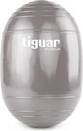 Tiguar Piłka gimnastyczna eliptyczna Ovoball 25x16,5cm Z Tiguar szara  r. uniw (TI-V001S)