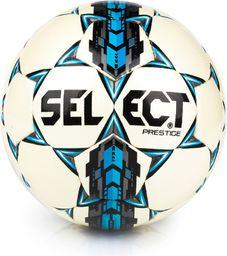 Select Pilka nożna Prestige biało-niebieska r. 5