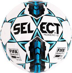 Select Piłka nożna Numero 10 White r. 5