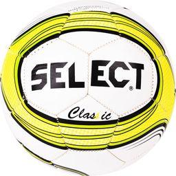 Select Piłka nożna Classic biało-żółta r. 4