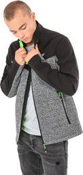 4f Bluza męska szaro-czarna r. XL (H4Z17-BLM006)