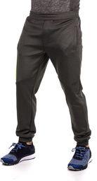 4f Spodnie męskie H4Z17-SPMD003 grafitowo-zielone r. XL