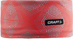 Craft Opaska damska Brilliant 2.0 Headband czerwona r. L/XL (1904303-2825)