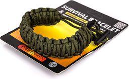 Bushmen Bransoletka Survival Bracelet zielona (520263)