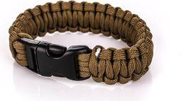 BCB Bransoleta survivalowa Paracord Bracelet Coyote (CM073C)