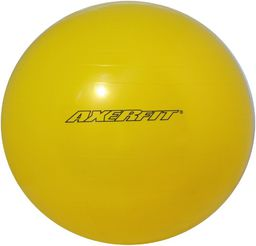 Axer Piłka gimnastyczna Standard 55cm Axer żółta