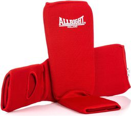 Allright Ochraniacz nagolennik ze stopą czerwony r. M (9984)