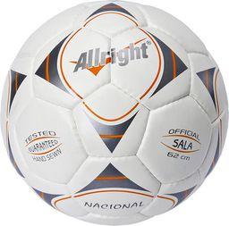 Allright Piłka nożna Nacional biała r. 4 (FBHALNC)